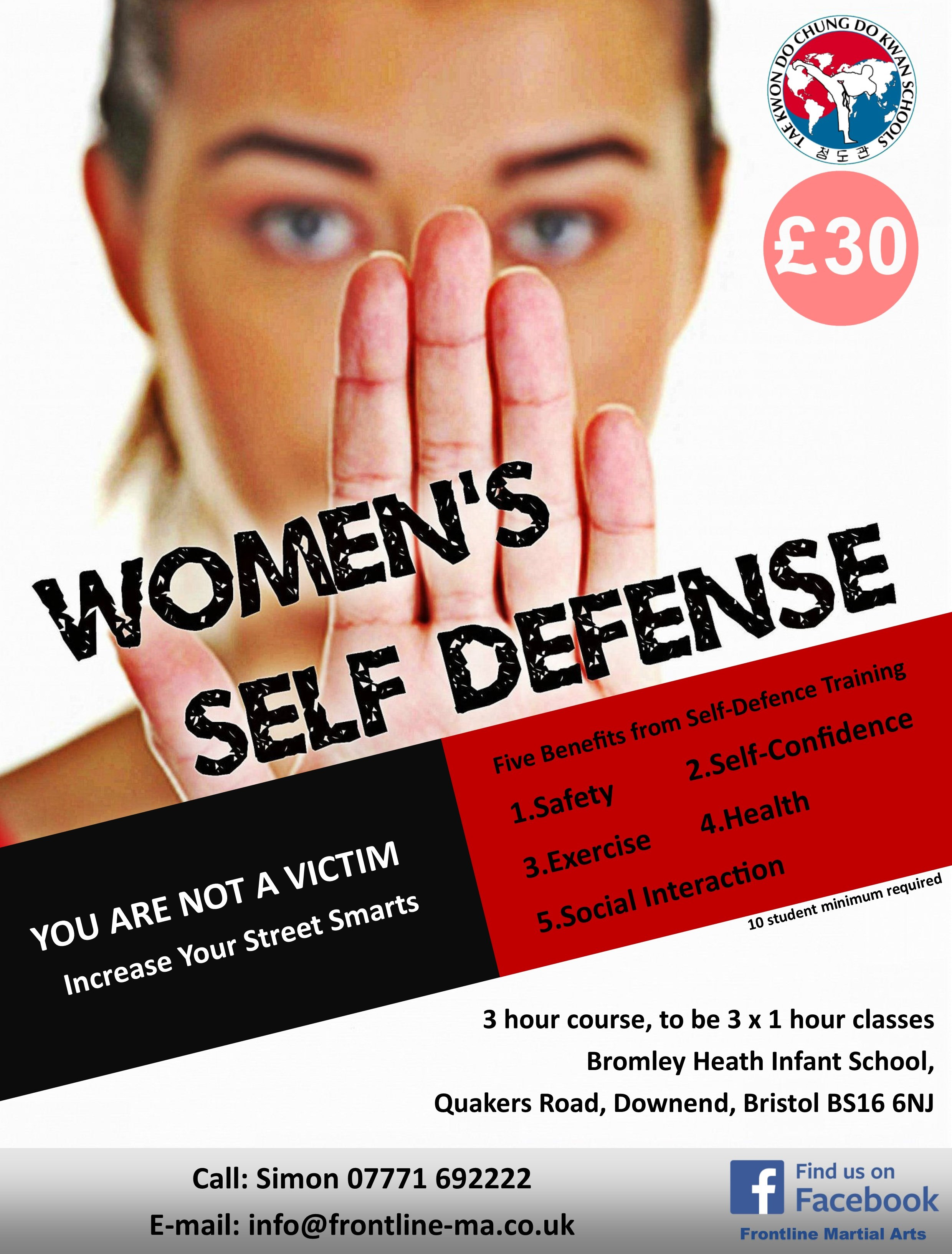 Self-Defence Poster